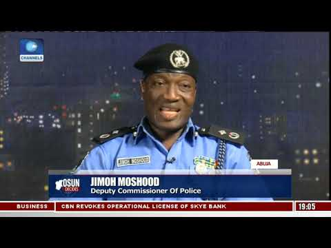 Osun Decides: Jimoh Moshood Explains Massive Police Deployment During Elections