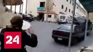 Неизвестные напали на полицию в Эль-Караке