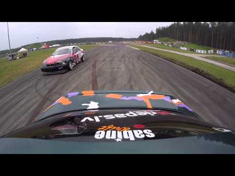 DriftIn RAW: LDK 2015 #2 - Sabine Andriksone vs. Edijs Lukins (видео)