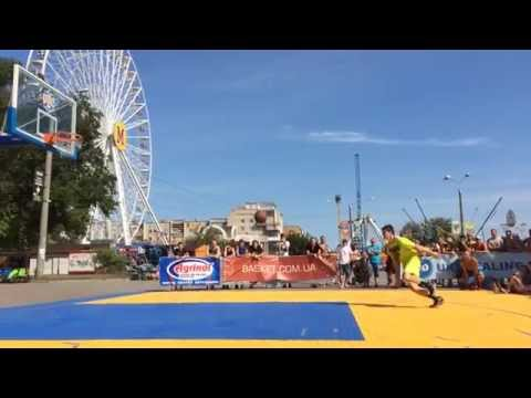 Конкурс данков на турнире УСЛ 3х3 Azov Sea Cup
