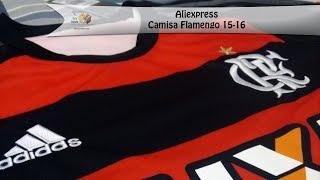 Camisa do Flamengo 2015-16 Tamanho: G (L) Valor: 17.10 U$ Tempo de Entrega: 1 Mês e 10 dias Nota: 10/10 AliExpress Link do Produto ...