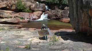 Citrusdal South Africa  city images : Simonne De Visscher in Waterfall Farm Citrusdal Cederbergen South Africa