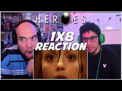 IS THAT THE BAD GUY? | Heroes 1x8 REACTION | Season 1 Episode 8