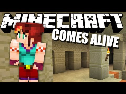 GOODBYE STEPHANIE... Minecraft Comes Alive #13