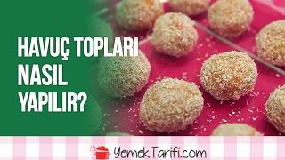 havuç topları nasıl yapılır?  tatlılar  yemektarifi.com
