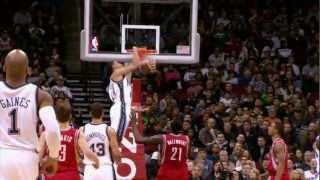 Top 10 NBA Dunks of 2012!
