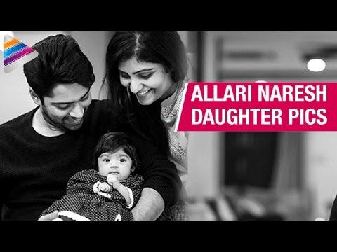 Allari Naresh Daughter Ayana Evika Edara Pics