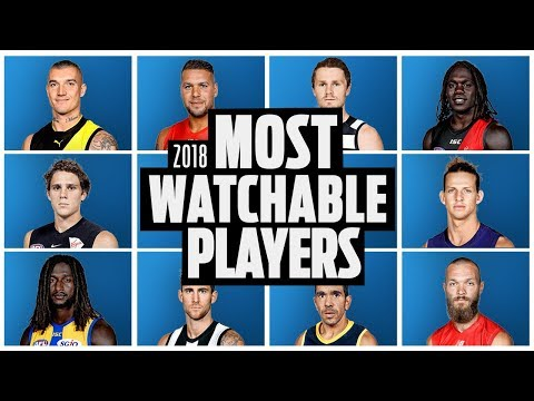 The Most Watchable Players In The AFL | Round 16, 2018 | AFL