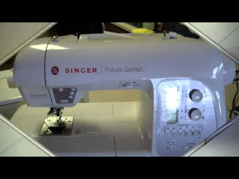Singer 4 in 1 Futura Quartet Sewing, Embroidery, Quilting and Serging Machine