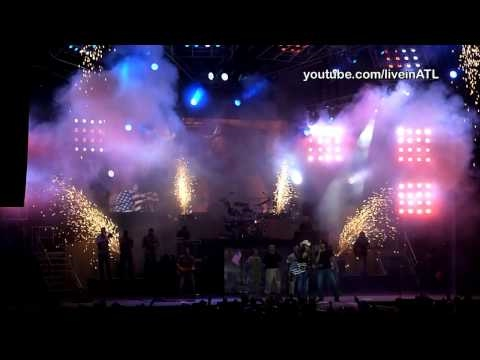 Toby Keith & Trace Adkins - Courtesy of the Red, White & Blue (The Angry American) - Atlanta 2010