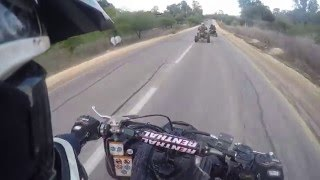 4. Can Am ds 450 Vs Yamaha Raptor 700 Speed Race