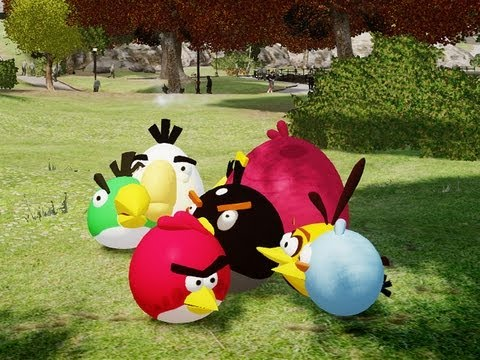 GTA 4 Angry Birds & Bad Piggies