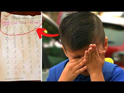Teacher Writes Insult On Boy's Homework, Has No Idea Who Dad Is