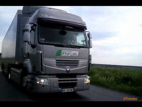 Грузовики Renault Trucks Optifuel