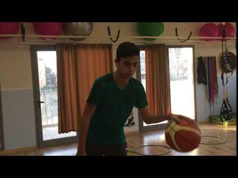 יציבה דינאמית לכדורסלן