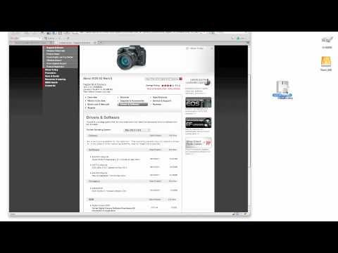 comment installer eos utility sans cd