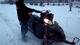 6. 2010 Arctic Cat M8 LE with Bikeman Powderlite muffler