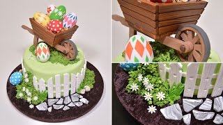 This is an introduction to our Easter Wheelbarrow Cake tutorial at Yeners Way. For the full tutorial, please visit the following link...https://www.yenersway.com/tutorials/festive-items/easter-wheelbarrow-cake/