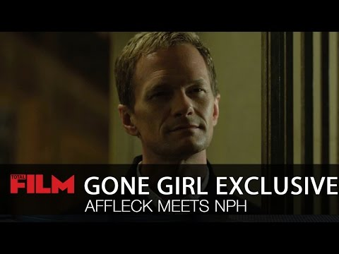 exclusive - Ben Affleck's Neil meets Neil Patrick Harris' Desi, as he searches for his gone girl - Rosamund Pike's amazing Amy. Gone Girl is in UK cinemas October 3.
