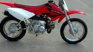 9. 2004 HONDA CRF70 FOR SALE WWW.RACERSEDGE411.COM
