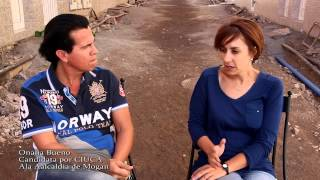 Pulsa para ver el vídeo - Entrevista a la compañera Onalia Bueno en relación a la obra de la calle El Pino.