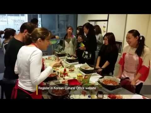 Korean Cooking Class In Korean Cultural Centre
