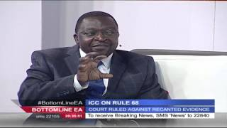 Bottomline East Africa Interview: ICC on Rule 68, 12th February 2016