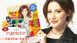 Ashley Tisdale Channels Her Inner Sharpay and Spits Out the Fries We Gave Her | Expensive Taste Test by Cosmopolitan