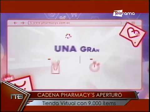 Cadena Pharmacy's aperturó tienda virtual con 9.000 ítems