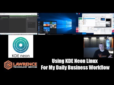 Using KDE Neon Linux  For My Daily Business Workflow