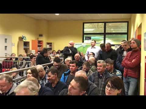 Wideo1: Gorąca dyskusja podczas spotkania z mieszkańcami Masłowa