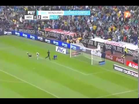 Honduras vs Mexico 2 a 1 Narracion mexicanos