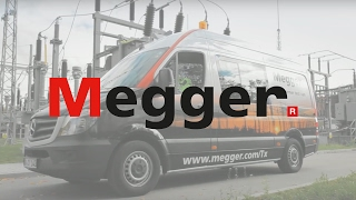 Megger transformer test van