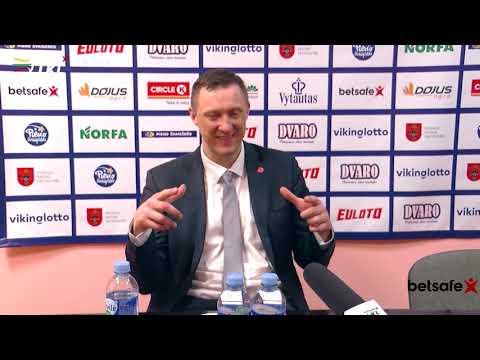 """""""Betsafe–LKL"""" rungtynių komentarai: """"Pieno žvaigždės"""" - """"Juventus"""" [2019-03-23]"""