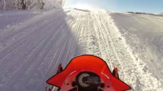10. 2017 Arctic Cat ZR Limited first ride