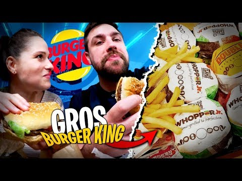 Burger King gratuit ?! On le dévalise avec Pidi...