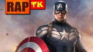 Rap do Capitão América // O Primeiro Vingador // TK RAPS