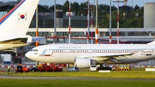 """Planespotting at Hamburg Airport after the G20 summit. See the last takeoffs of the government machines of Turkey, Indonesia, France and Canada, as well as the reparking of the South Korean """"Air Force One"""".Subscribe: https://www.youtube.com/channel/UCrCLYgLx7x52o0Otv-8BZpg?sub_confirmation=1Facebook: https://www.facebook.com/HD1080ideTwitter: www.twitter.com/HD1080ide"""