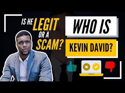 Kevin David, Is He Legit or a Scam? *The TRUTH* Honest Review!