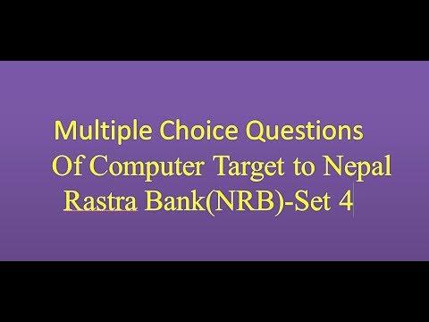(Multiple choice computer(MCQ part-4) - Duration: 6 minutes, 17 seconds.)