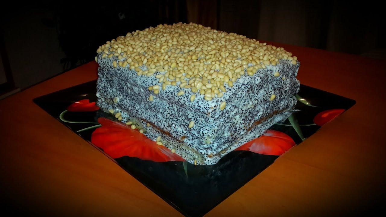 манник торт рецепт с фото