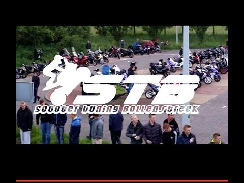 Scooter Meeting Leiden 30-05-14, Politie komt gezellig langs!