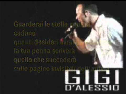 , title : 'Gigi D'alessio - Il cammino dell'età (testo)'