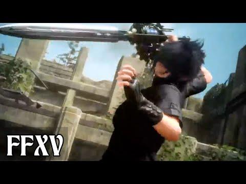 final fantasy xv xbox one gameplay
