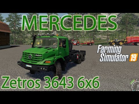 Mercedes Zetros 3643 6x6 Final v2.0