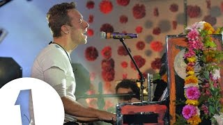 Coldplay - Adventure Of A Lifetime live for BBC Radio 1 Video