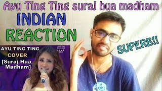Video ayu ting ting suraj hua madham INDIAN REACTION | SPEXPLX MP3, 3GP, MP4, WEBM, AVI, FLV Juni 2018