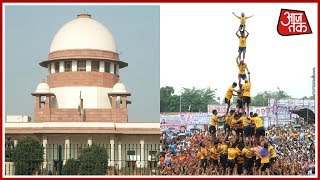 Children Below 14-Years Will Not Be Allowed To Participate In Dahi Handi: Says Supreme Court