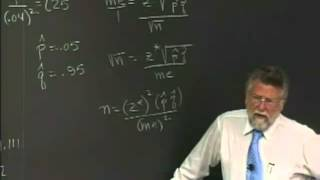 Lecture 47 Math 134 Elementary Statistics