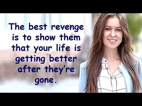 Quotes about happiness - Don't Take Revenge  A Motivational Video